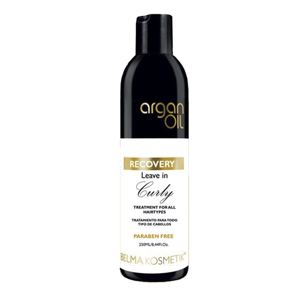 Argan Oil Recovery Curly